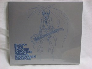▲BLACK★ROCK SHOOTER ANIMATION; ORIGINAL SOUNDTRACK&REMIXES